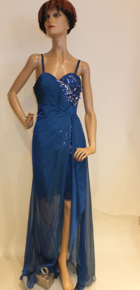 5615LK6 Abendkleid Gr 32