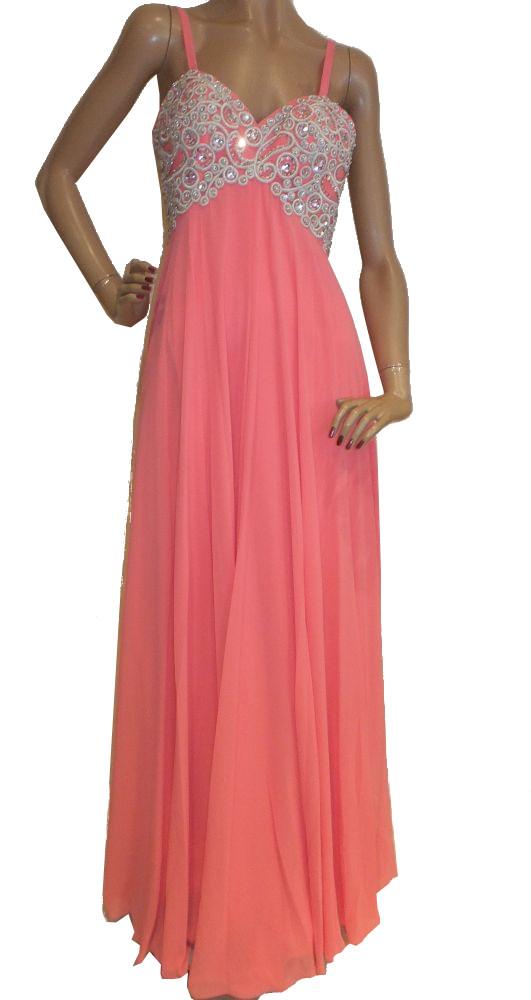 5991LK5c Abendkleid Gr 32-36