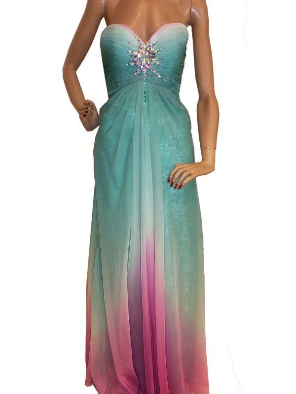 5618LK4 Abendkleid Gr 34