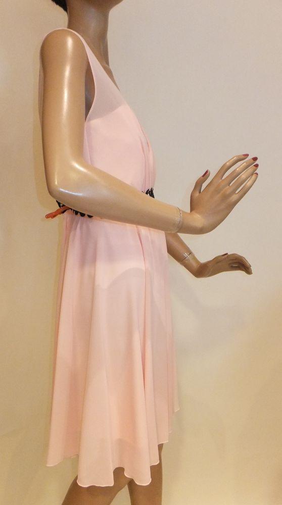 7656SK9 Kleid rose Gr 34 u 36