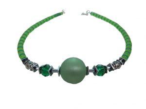 7675KH9 Halskette Krisho grün