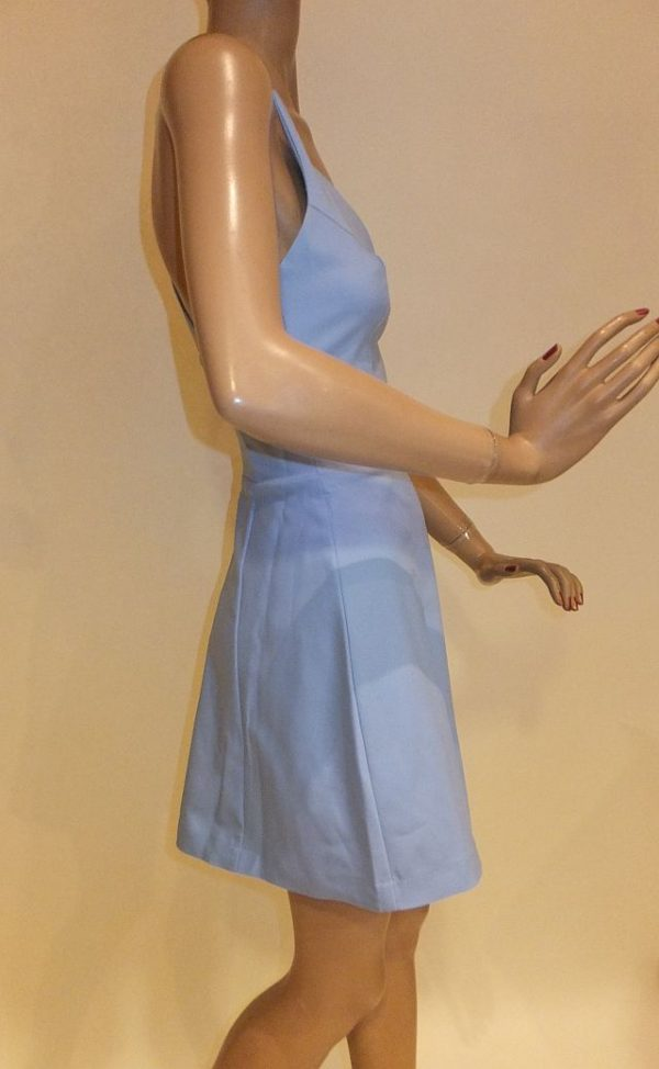 7682FK9 Kleid hellblau Gr 34