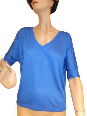 7645ST8blau Shirt Gr 38 u 42