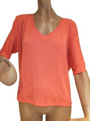 7645ST8orange Shirt Gr.40