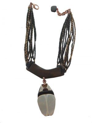 0236NH3 Halskette Naturschmuck