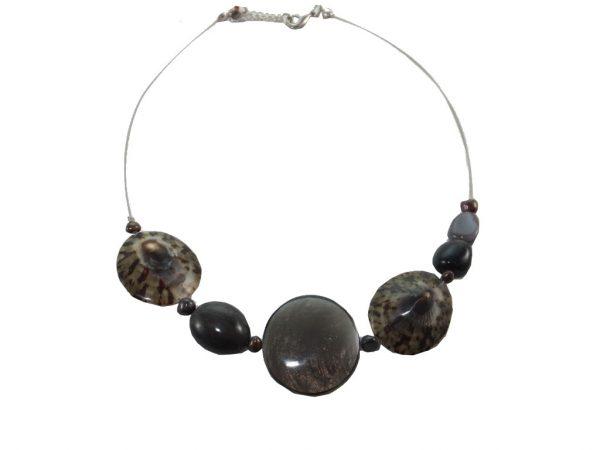 2195NH7 Halskette Perlmutt
