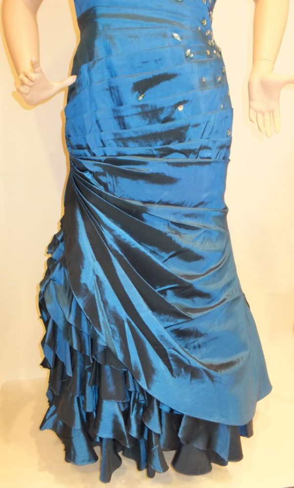 5095LK3 Abendkleid Gr 50-52