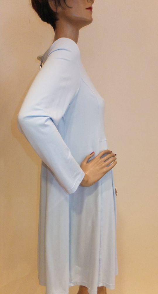 7767MK9 Kleid hellblau Gr 40