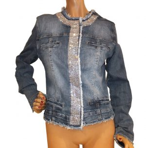 7784MJ9 Jacke Jeans blau Gr 40 u 42