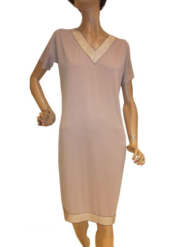 7768MK9 Kleid beige Gr 42
