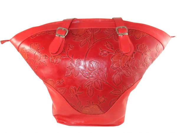 7790DT9 déqua Tasche Unikat rote Rosen