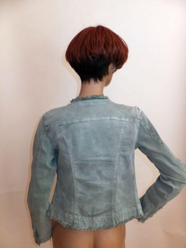 7822MJ9 Jacke Jeans grün Gr  42