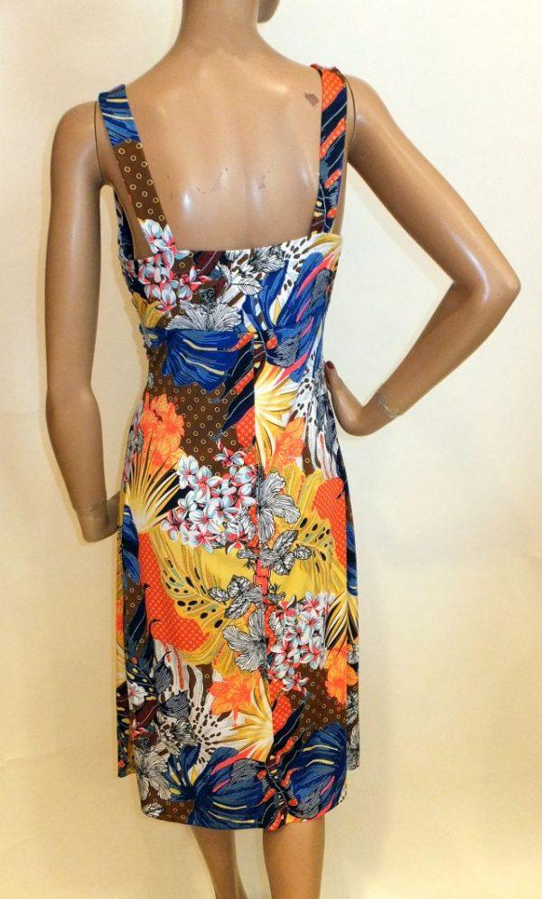 7860WK9 Kleid bunt Gr 40