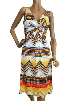 7859WK9 Kleid bunt Gr. 40