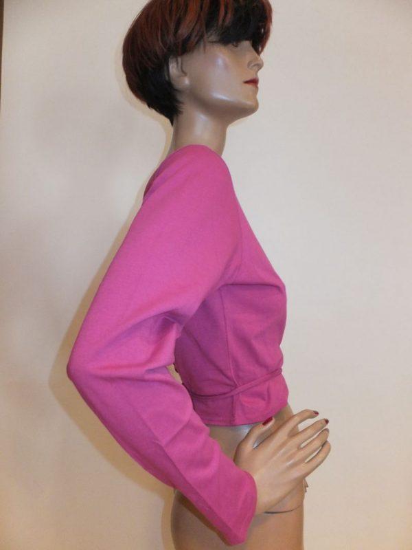 7875MW9 Wickelweste pink Gr 42