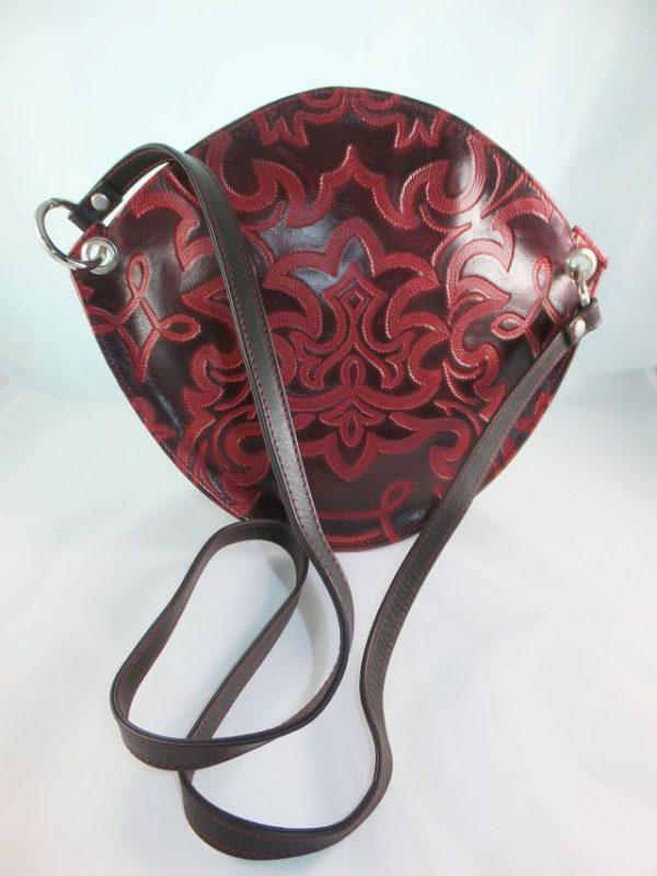 6581DT6 dequa Tasche rot-schwarz