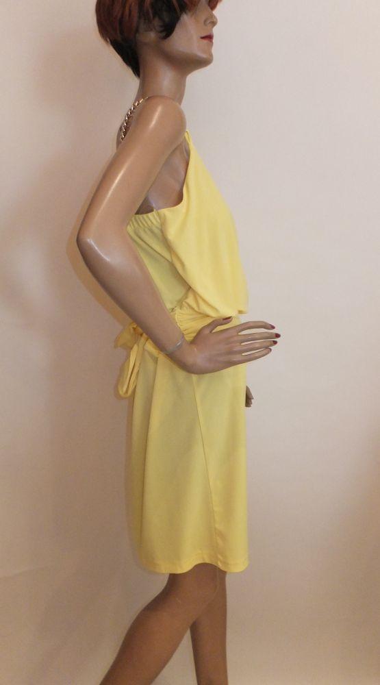 7888BK9 Rinascimento -Kleid gelb Gr 38-40