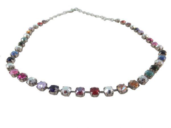 7959PH9 Halskette dunkel-bunt