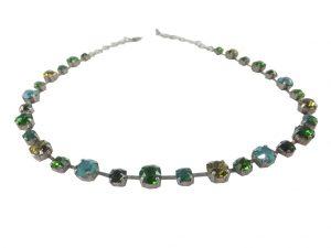 7957PH9 Halskette grün-türkis