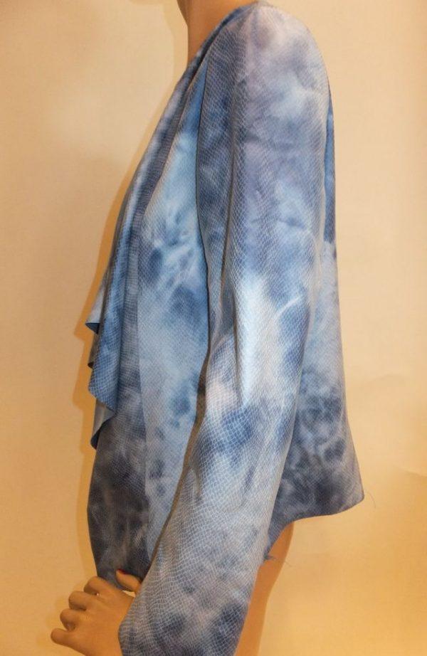 6504BJ6b Jacke blau Nana Baila