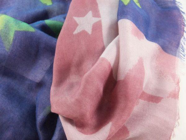 4981PS22 Tuch rose-blau