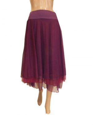 8007LR9 Petticoat Lalmour bordeaux Gr 36 u 38