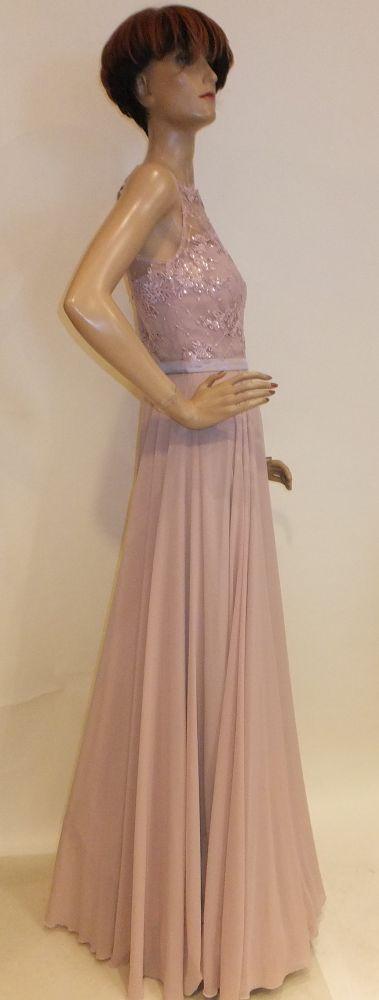 8046SK9 Abendkleid rose Gr 34