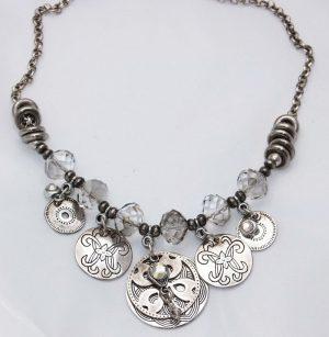 3907RH0 Halskette Ravelli silber