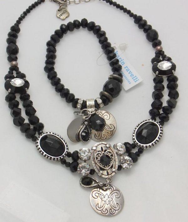 3900RH0 Halskette Ravelli schwarz
