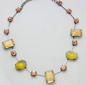 1372PH5 Halskette gelb