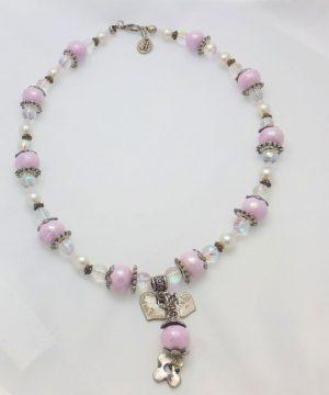 2709SH8 Halskette rose