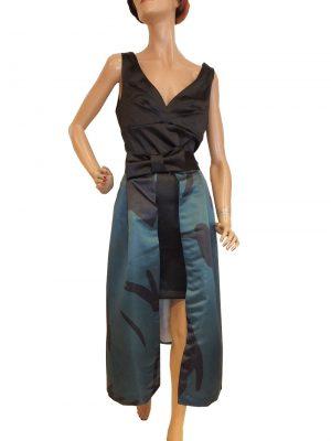 8028BK9  Rinascimento 2-teiliges Kleid Gr 40-42