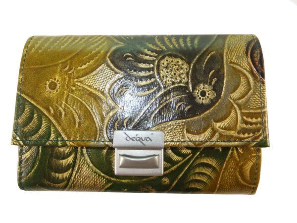 8074DG9C déqua Unikat Geldbörse G11 grün-gold