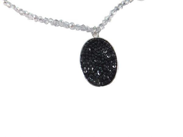 8121PH9 Halskette schwarz SWAROVSKI Elements
