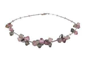 8162PH0 Halskette rose mit Swarovski-Elements