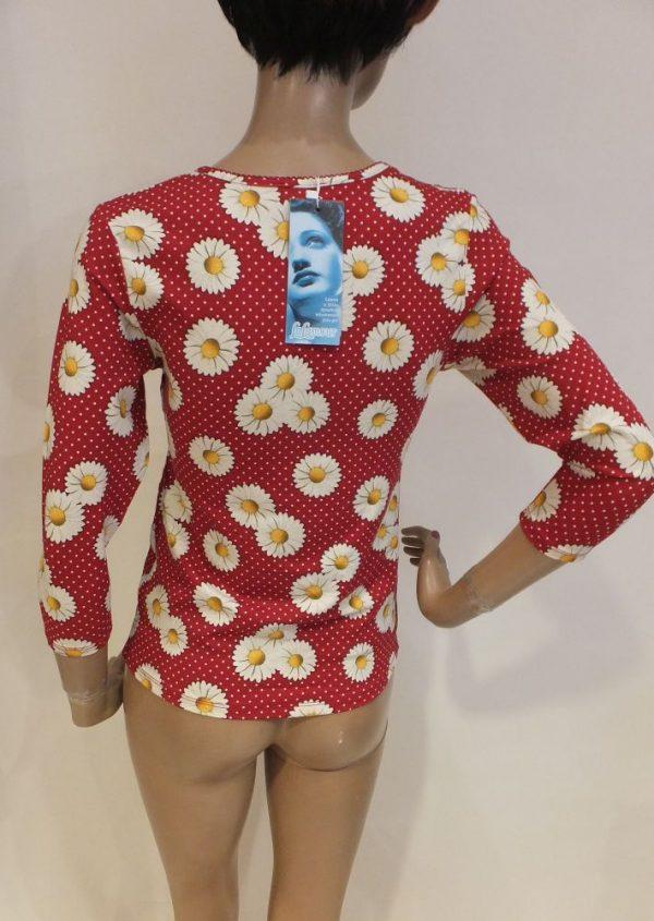 8198LP0 rot Shirt Lalamour Gr 40 bis 44