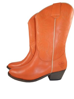 8187PS0 orange Stiefel Gr 37 u 38 (Novia)
