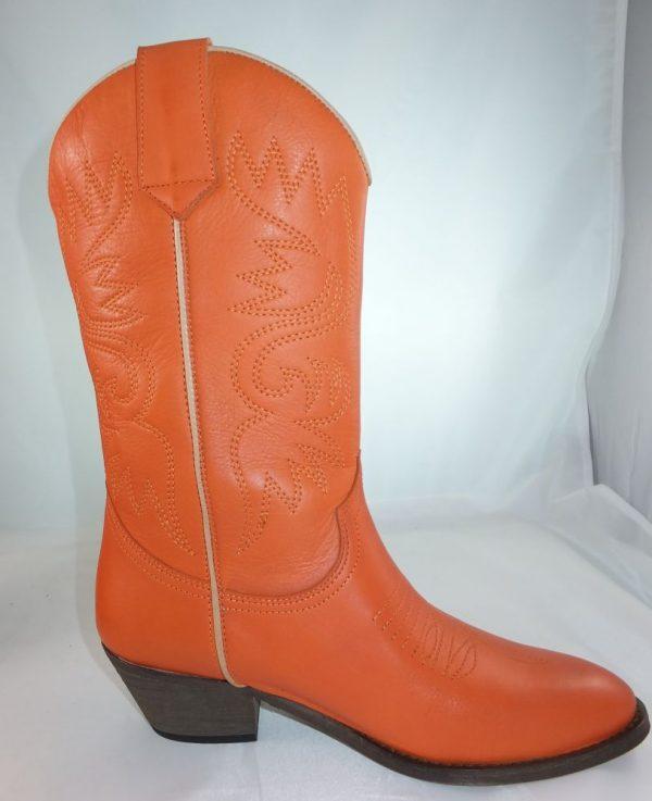 8187PS0 orange Stiefel Gr 37 u 38 (Novia)