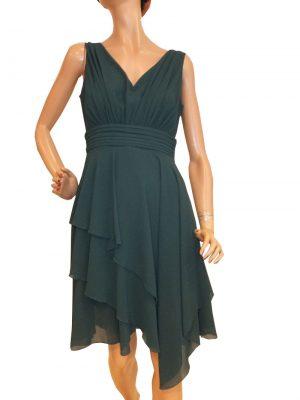 8182SK0 Kleid smaragdgrün Gr 36 - 42