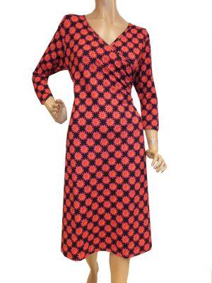 8200LK0 schwarz-rot  Kleid Lalamour Gr 38
