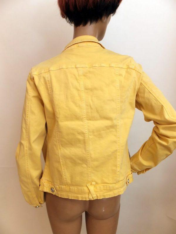 8223WJ0 Jeansjacke gelb Gr 40