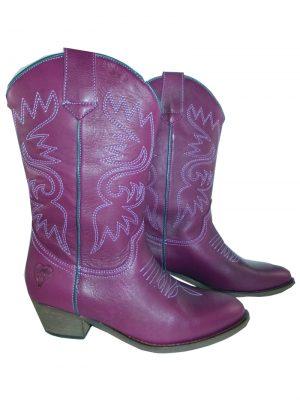 8187PS0 violett Stiefel Gr 38 (Chaya)