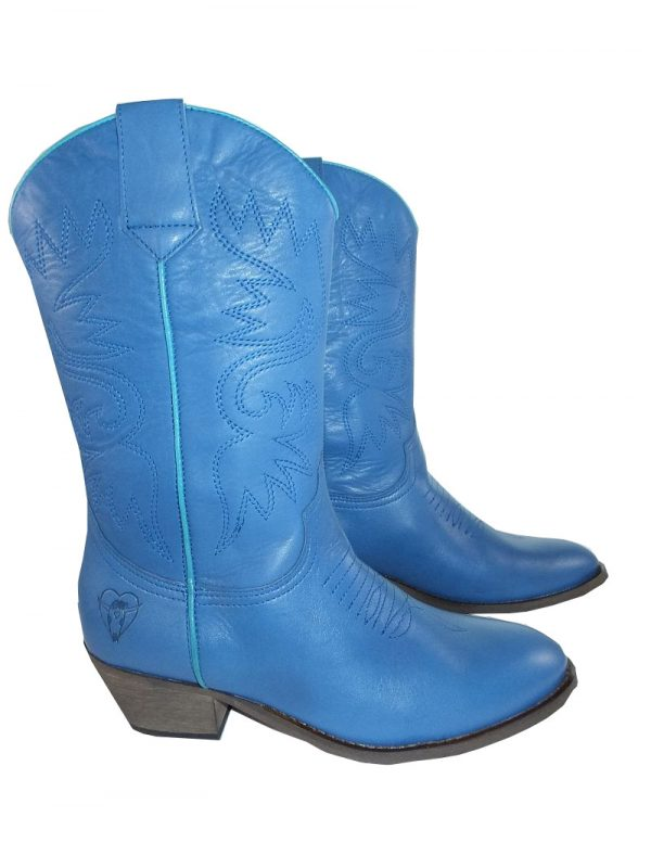 8187PS0 blau Stiefel Gr  38 (Juliana)