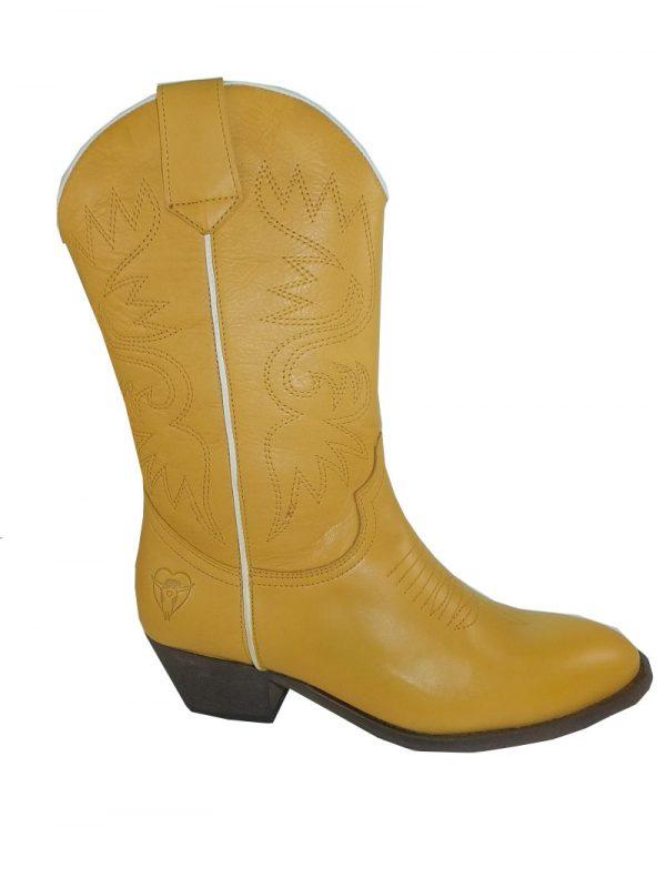 8187PS0 gelb Stiefel Gr 38 u 39 ( Soline)