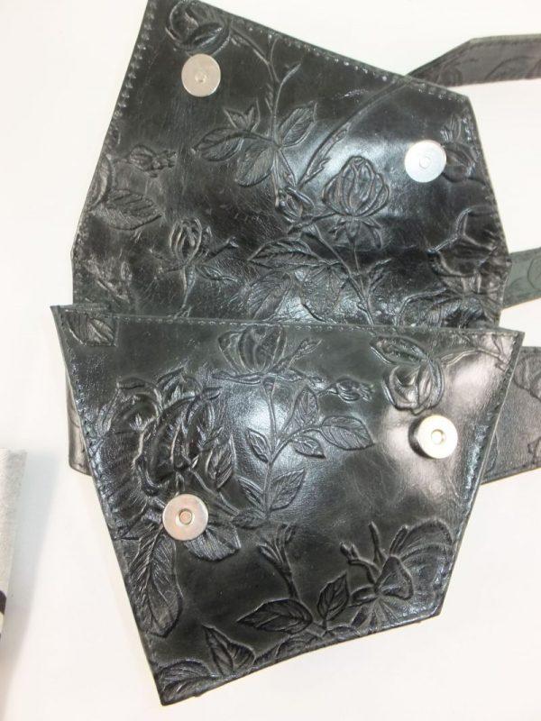 6831DT6A dequa Gürtel-Bauchtasche schwarz