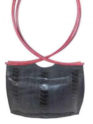 6828DT6A dequa Tasche schwarz-rot