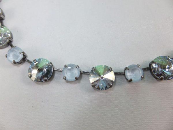 3028PH5B Halskette weiß-klar