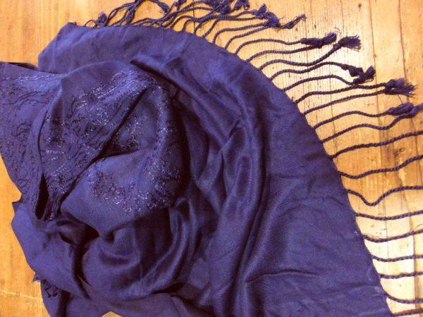3324PS9 Schultertuch violett