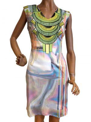 8252WK0 Kleid Missy Gr 40