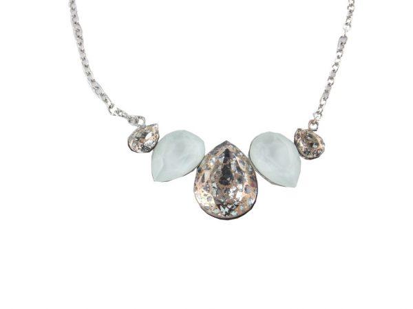 6717EH6hell  Halskette mit SWAROVSKI Elements